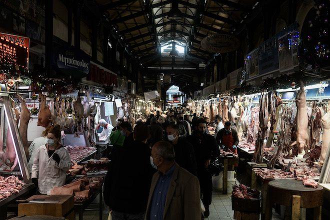 Βαρβάκειος Αγορά, 24 Δεκεμβρίου 2020